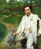 Portrait of the Pianist Conrad Ansorge 1903 - Lovis Corinth