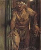 Samson Blinded - Lovis Corinth