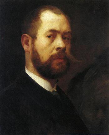 Self Portrait - Lovis Corinth reproduction oil painting