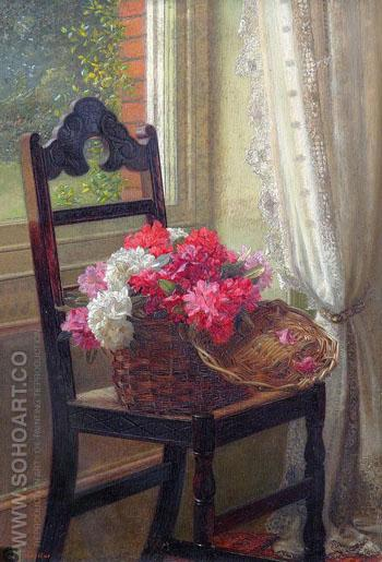 Rhododendrons - Jessica Hayllar reproduction oil painting