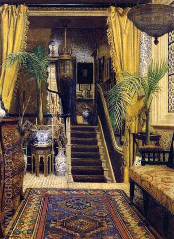 The Hallway - Jessica Hayllar reproduction oil painting