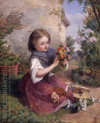 The Posy - Jessica Hayllar reproduction oil painting