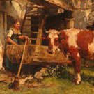 Country Scene - Karl Stuhlmuller