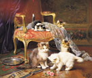 Mischief Makers - Leon Charles Huber reproduction oil painting