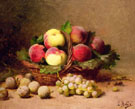 Still Life of Fruit - Leon Charles Huber
