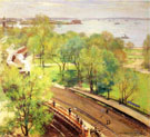 Battery Park Spring 1902 - Willard Leroy Metcalfe