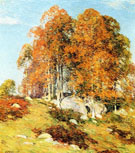 Early October - Willard Leroy Metcalfe