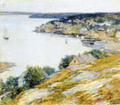 East Boothbay Harbor 1904 - Willard Leroy Metcalfe