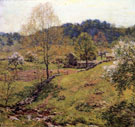 Landscape Maytime - Willard Leroy Metcalfe reproduction oil painting