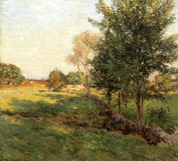 Lengthening Shadows - Willard Leroy Metcalfe reproduction oil painting