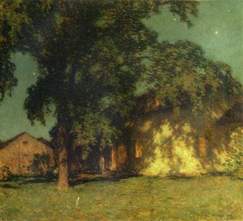Summer Night No 2 1914 - Willard Leroy Metcalfe reproduction oil painting