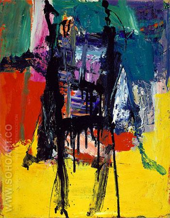 Untitled 1959 C - Franz Kline reproduction oil painting