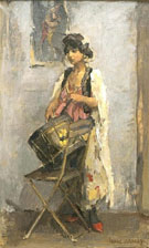 De Trommelslaagster - Isaac Israels