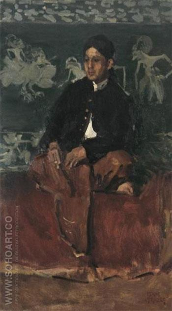 Portrait of a Nobleman - Isaac Israels reproduction oil painting