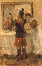 Scottish Dance - Isaac Israels reproduction oil painting