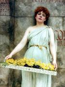 A Flower Seller 1896 - John William Godward