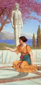 Ancient Pastimes 1916 - John William Godward