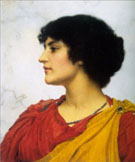 An Italian Girls Head 1902 - John William Godward