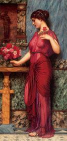 An Offering to Venus 1912 - John William Godward