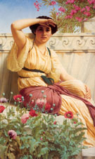 A Tryst 1912 - John William Godward