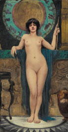 Campaspe Study - John William Godward