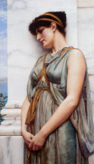 Grecian Reverie 1889 - John William Godward