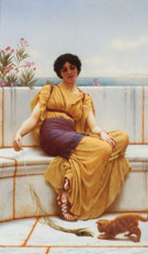 Idleness 1900 - John William Godward