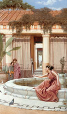 Innocent Amuseuments 1891 - John William Godward