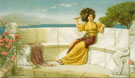 In The Prime of the Summer Time 1915 - John William Godward
