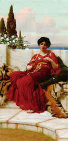 Mischief 1905 - John William Godward