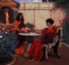 Pompeian Garden - John William Godward