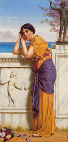 Rich Gifts Wax Poor When Lovers Prove Unkind 1916 - John William Godward reproduction oil painting
