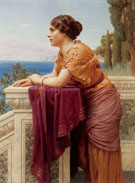 The Belvedere 1913 - John William Godward