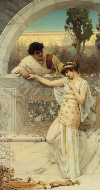 Yes or No 1893 - John William Godward reproduction oil painting