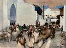 A Moorish Procession Tangier 1893 - Arthur Melville