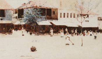 Kurrachan - Arthur Melville reproduction oil painting