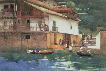 Orange Market - Arthur Melville reproduction oil painting