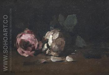 Roses - Arthur Melville reproduction oil painting