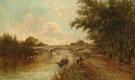 Staines Bridge Surrey - Arthur Melville reproduction oil painting