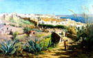 View of Tangier - Arthur Melville reproduction oil painting