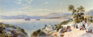 A View of Lake Maggiore and The Borromean Islands 1895 - Charles Rowbotham reproduction oil painting