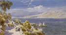 Lake Como with Bellagio in the Distance - Charles Rowbotham