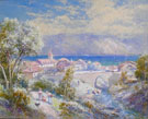 Mediteranean Scene - Charles Rowbotham reproduction oil painting