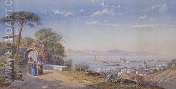 Messina 1884 - Charles Rowbotham reproduction oil painting