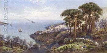 Near Swanage - Charles Rowbotham reproduction oil painting