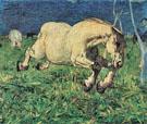 Galloping Horse - Giovanni Segantini