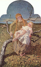The Fruit of Love c1900 - Giovanni Segantini