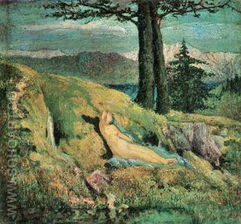 The Source - Giovanni Segantini reproduction oil painting