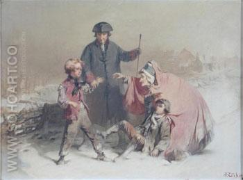 Ending the Scrap - John Ritchie reproduction oil painting