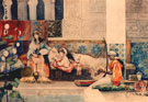 Relaxing in the Harem - Juan Gimenez Martin